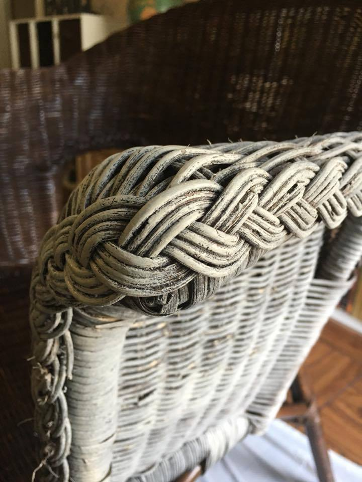 Chalky Paint Chair Makeover