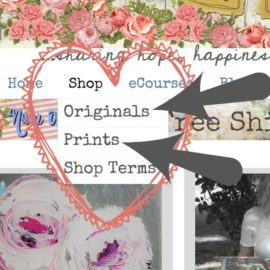 New Prints and a New Shop Tour