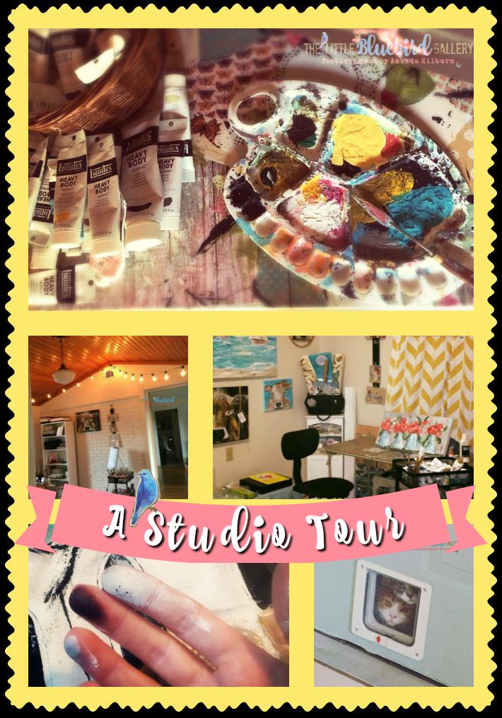 Amanda Hilburn's Studio Tour