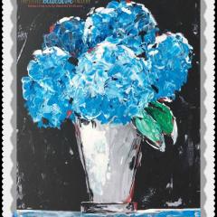 Hydrangea eCourse by Amanda Hilburn #hydrangeas #learntopaint #paintinglessons