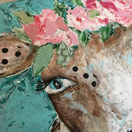 Blossom the Cow by Amanda Hilburn