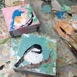 Bluebird and Chickadee: A Self Study Studio Session