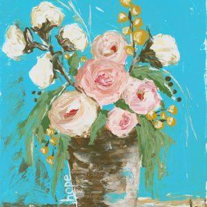 Hope Floral Print