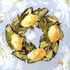 Lemon Wreath: A Self Study Studio Session