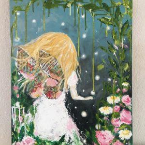 A Fairytale; Original Girl Painting