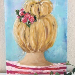 Katelynne; Original Girl Painting