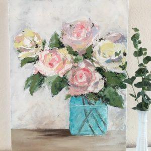 Roses; Original Floral Painting