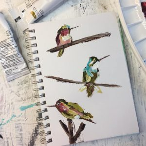 Hummingbirds: A Self Study Studio Session