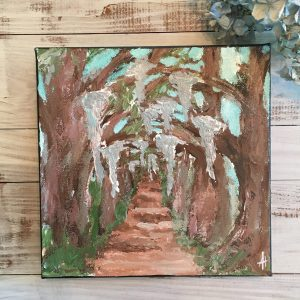 Country Road; Original Tree Painting