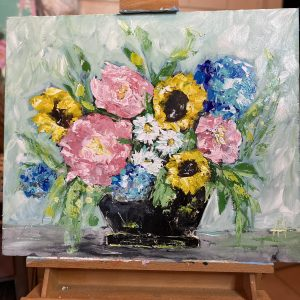 Large Floral Bouquet: A Self Study Studio Session