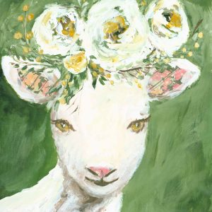 Sweet Little Lamb; Sheep Print