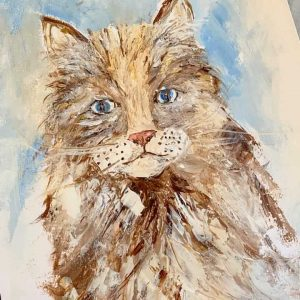 Palette Knife Kitty: A Self Study Studio Session