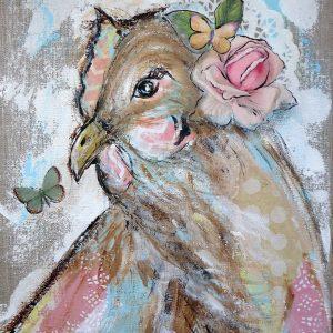 Rosalee; Chicken Print