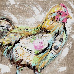 Rosie; Chicken Print