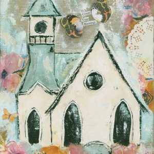 Count Your Blessings; Church Art Print