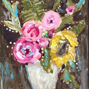 Warm Summer Florals; Floral Print