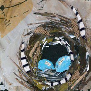 Two Eggs; Bird Nest Art Print