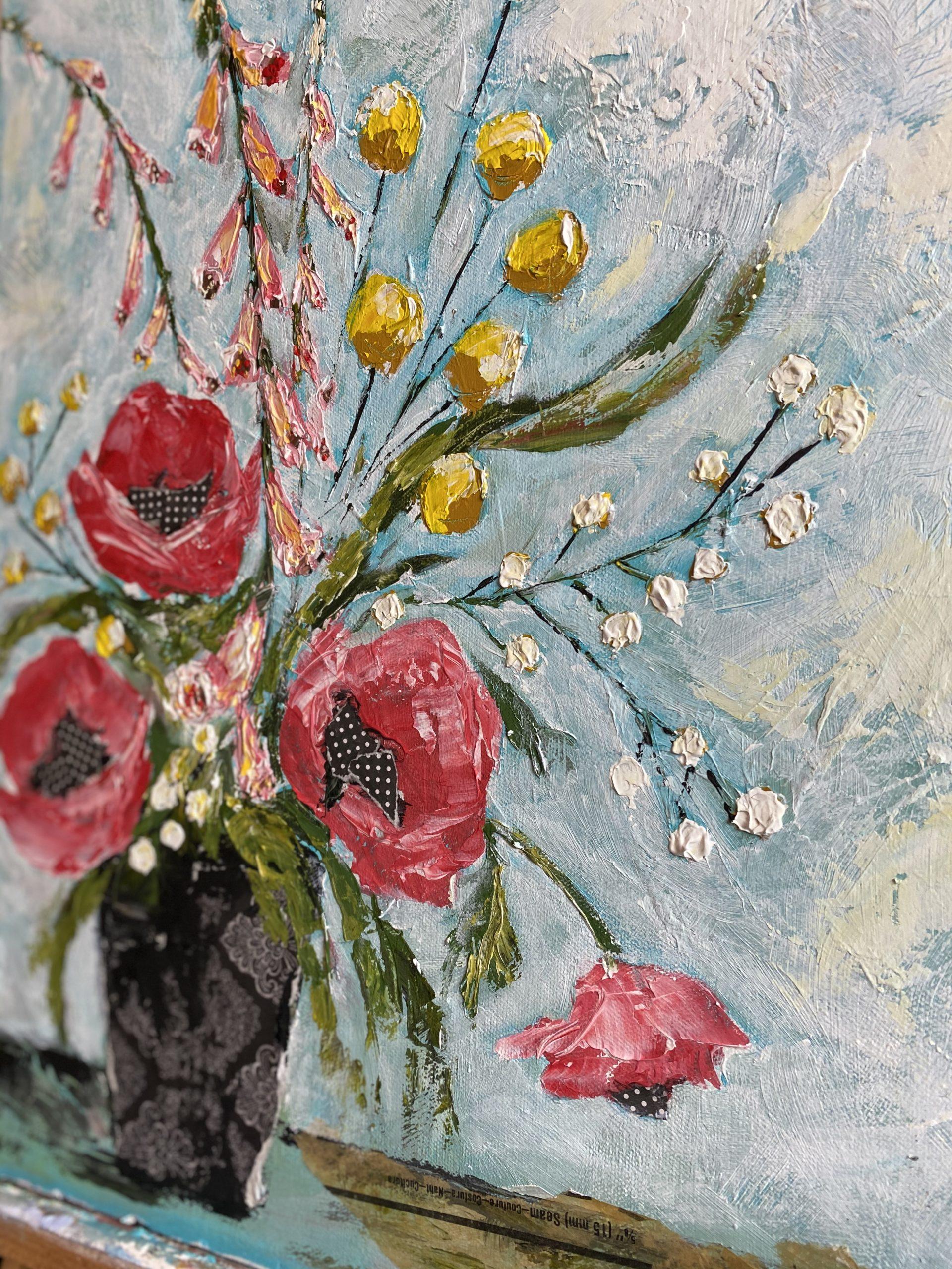 Poppy Delight by Amanda Hilburn