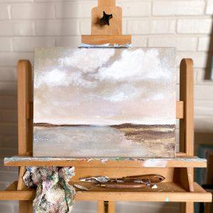 Peaceful Easy Feeling; Original Acrylic Landscape