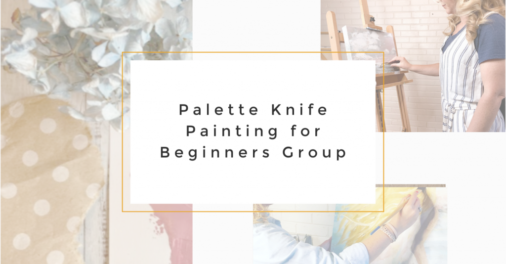 Palette Knife Painting For Beginners
