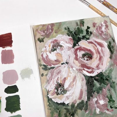 Muted Floral: A Self Study Studio Session