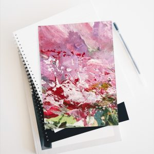Abstract Peony -Journal – Ruled Line