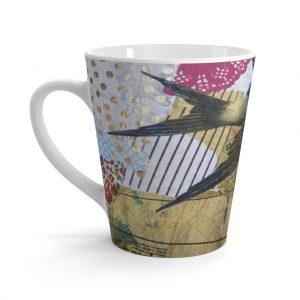 Bluebird Latte mug