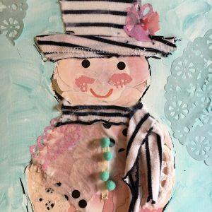 Shabby Chic Snowman Tutorial