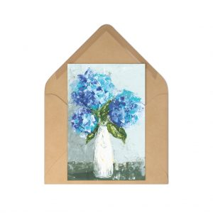 Three Hydrangeas Postcards (7 pcs)