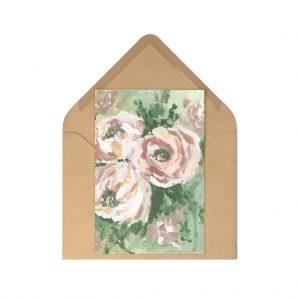 Muted Florals Postcards (7 pcs)