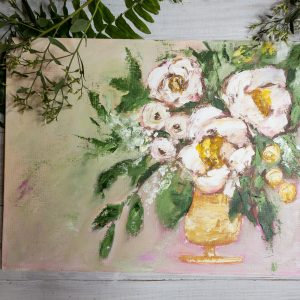 Pink Lemonade; Original Oil Painting