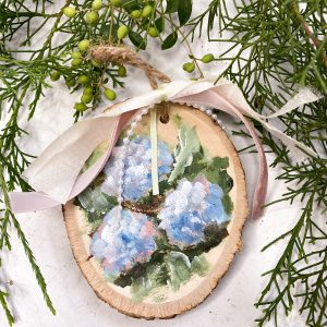 The Shabby Chic Collection; Christmas Ornaments