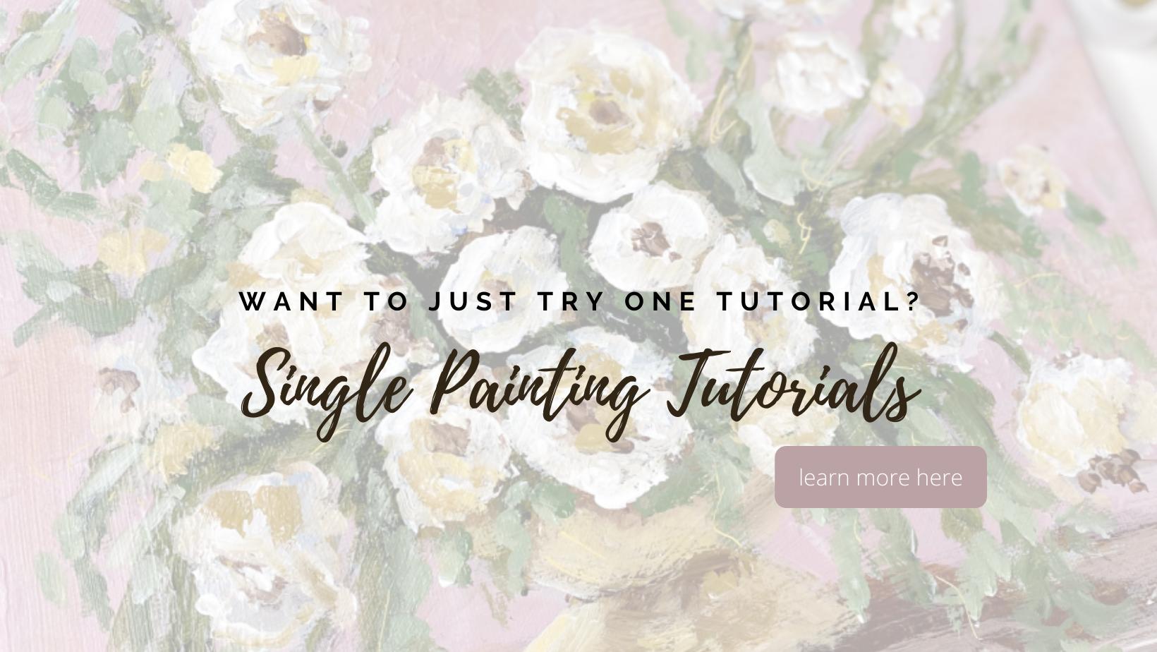 palette knife painting tutorials