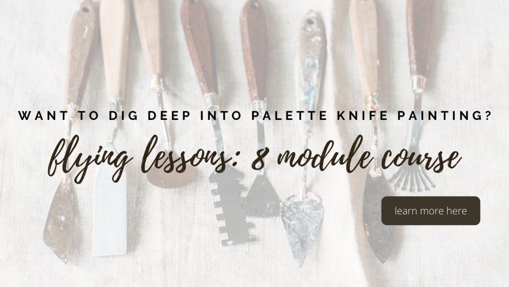 palette knife painting course