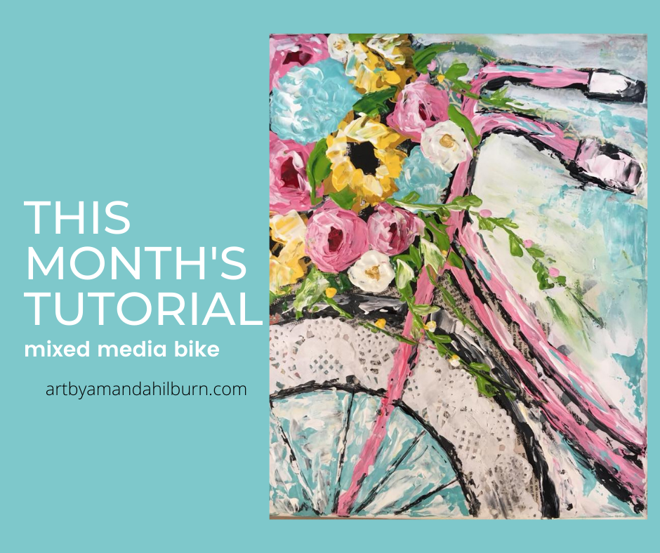 Palette Knife Painting of The Month Membership