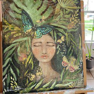 Tropical Bliss; Original Painting